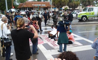 Miami 15 takes the street.