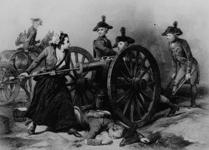 Molly Pitcher.