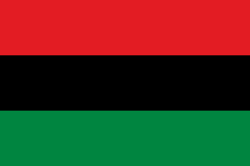 red black green flag