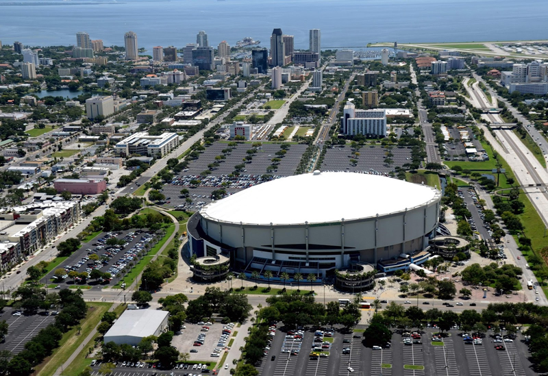 Tropicana Field, where the community strikes out!
